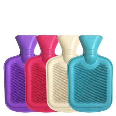 Mini 750ml Size Hot Water Bottles Montage Image Showing All Colours