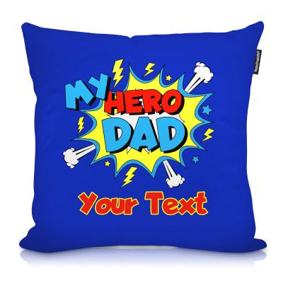 Personalised Cushion with My Hero Design