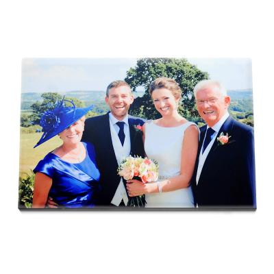 Personalised Photo Frame - Flat Top Easel
