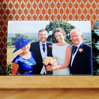 Photo Frame - Flat Top Easel with Full Colour Photo Print