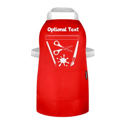 Kids Painting Apron with Optional-Personalised Text