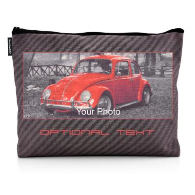 Personalised Wash Bag with Rip-Stop Fabric & Photo Print