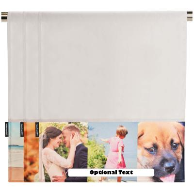 Personalised Tea Towel with Photo Upload 60cm x 45cm -White from HappySnapGifts